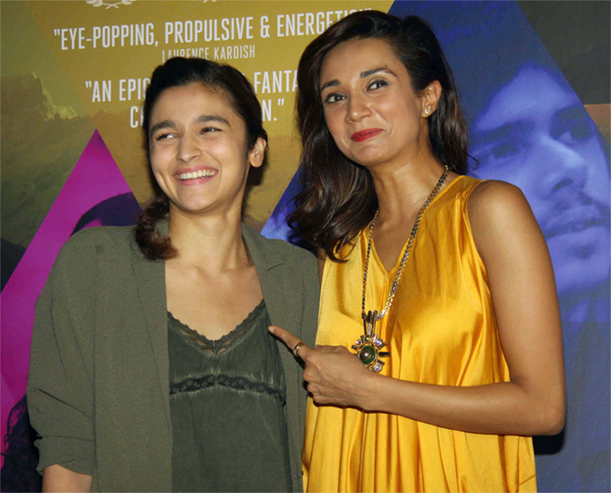 Alia and Ira Dubey