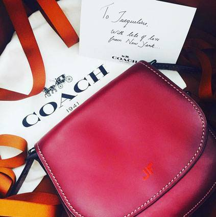 Monogramed Coach wallet