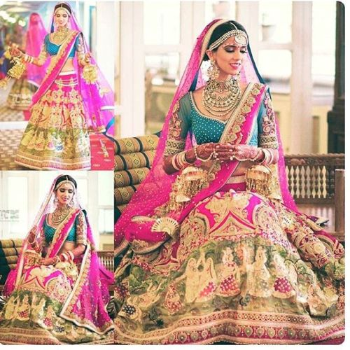 Check out this lehenga