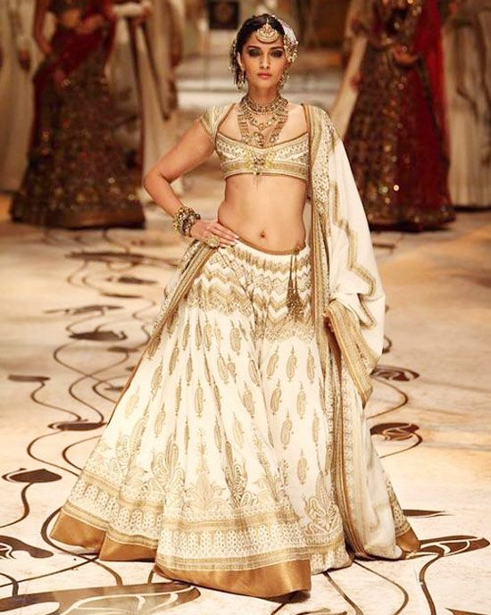 Sonam in a Rohit Bal creation