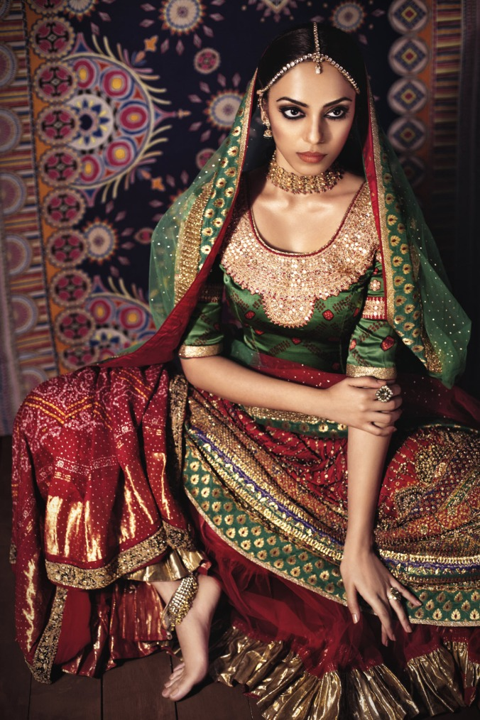 A Ritu Kumar bridal creation