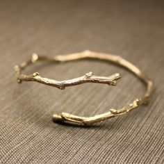 Branch shaped ring