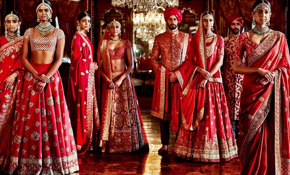 Sabyasachi's bridal wear collection