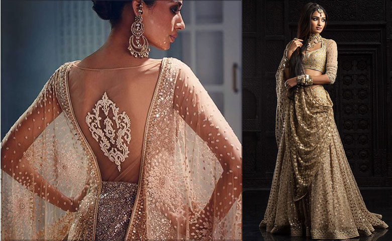 Another fabulous bridal lehenga