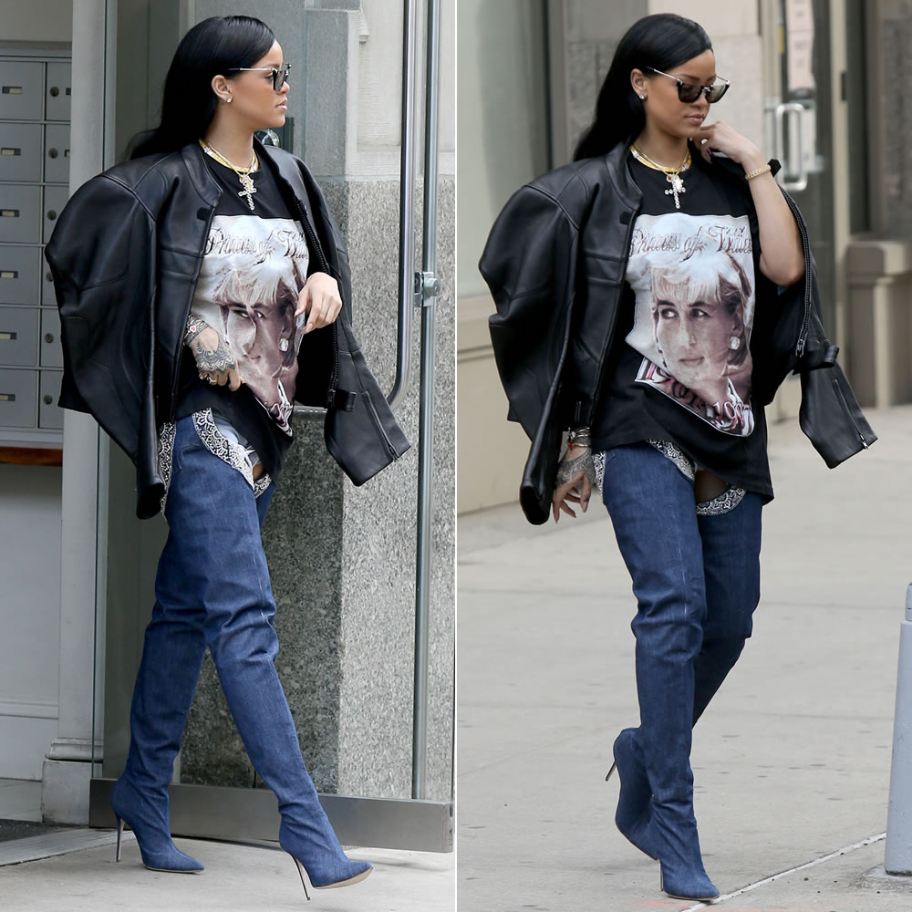 rihanna-princess-diana-t-shirt