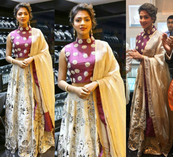 Amala Paul's look