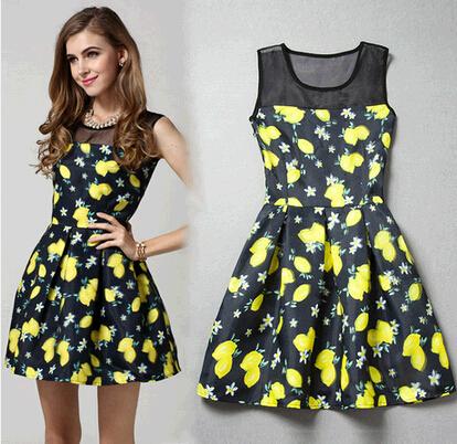 Fruit Theme Dress