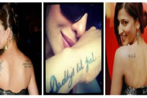 Tattoo trends among Indian celebs