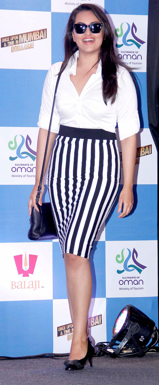Check out Sonakshi's Skirt!
