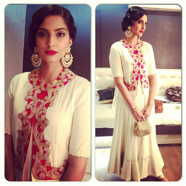 Sonam Kapoor's Formal Look.