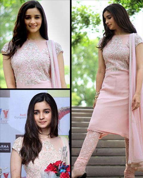 Alia Bhatt's Casual Suit Look.