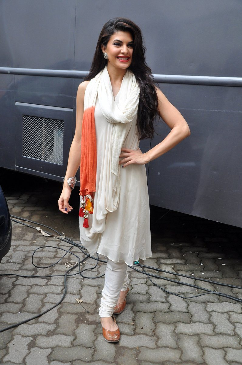 Jacqueline's Casual Salwar Suit Look.