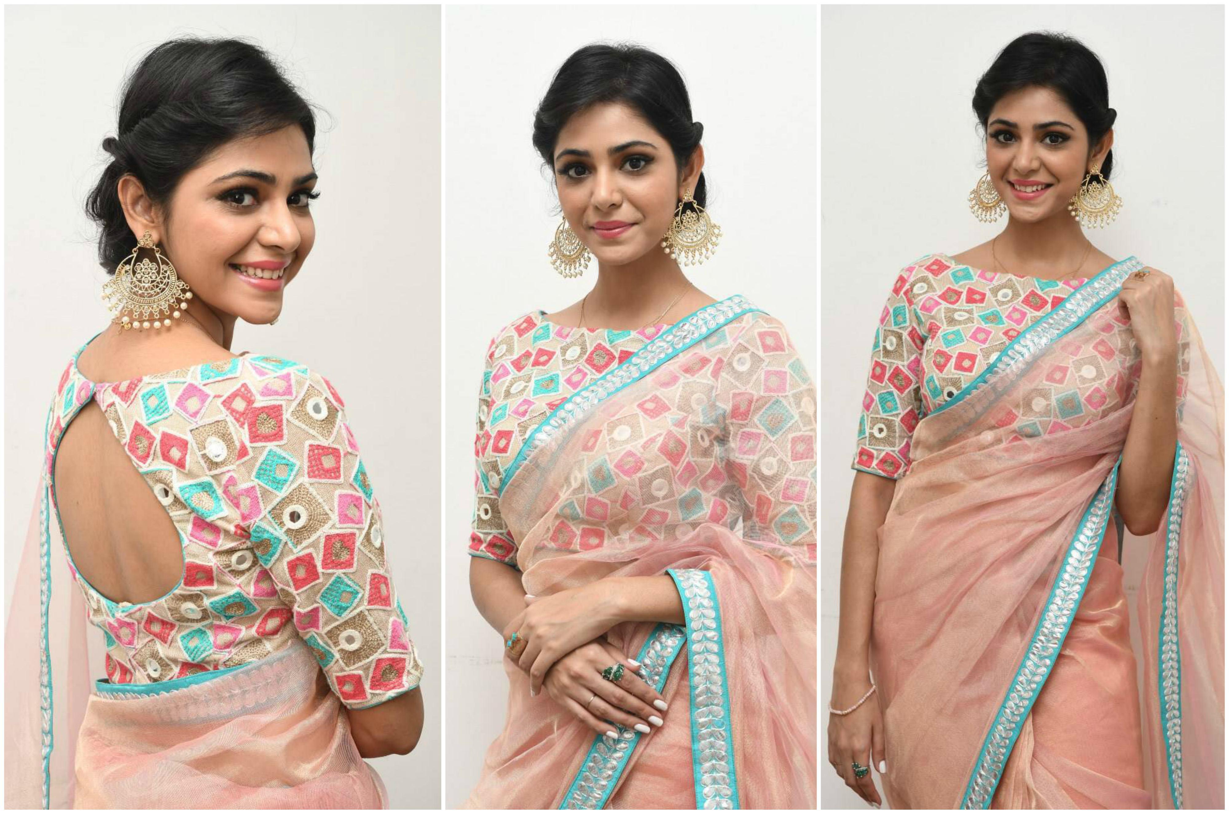 priyanka-bharadwaj-in-pink-saree