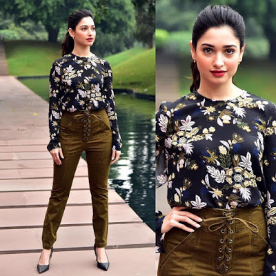 Tamannaah Bhatia's Look