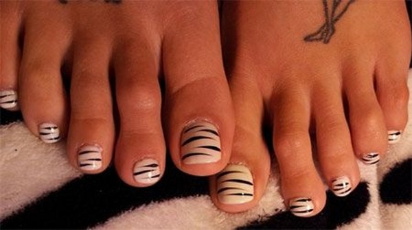 Toe Nail Design Art