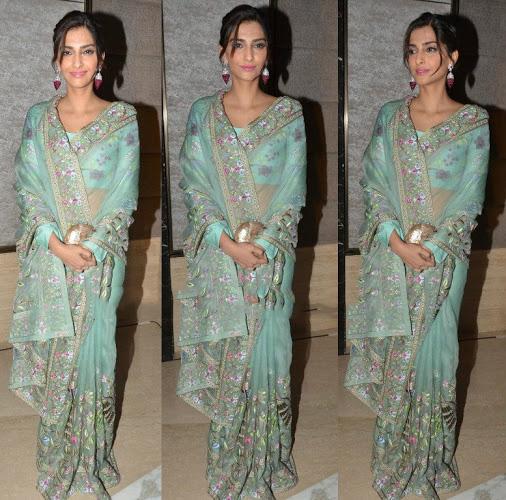 Sonam's look