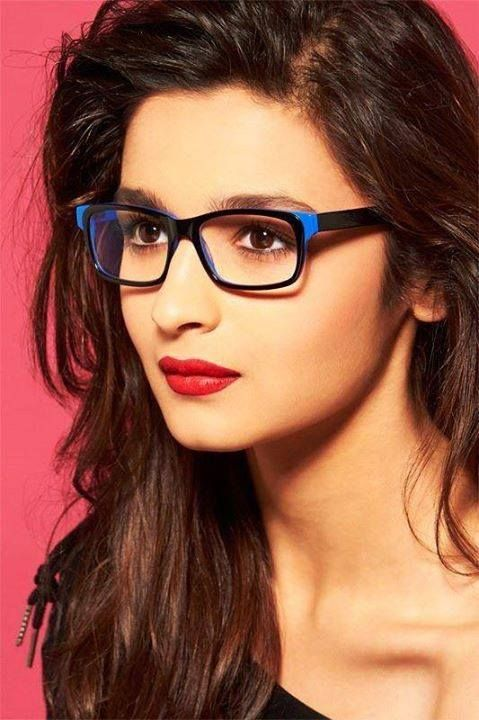 Alia bhatt is looking More Attractive In Glasses.