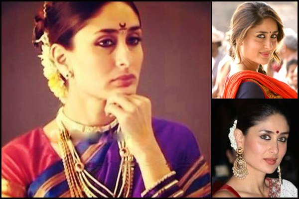 Kareena Kapoor in different style bindis
