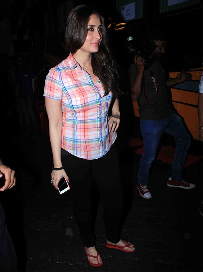 Kareena in cool casual look