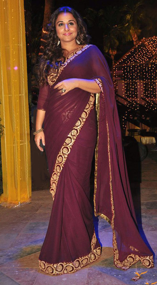Vidya Balan on the Udaan Show