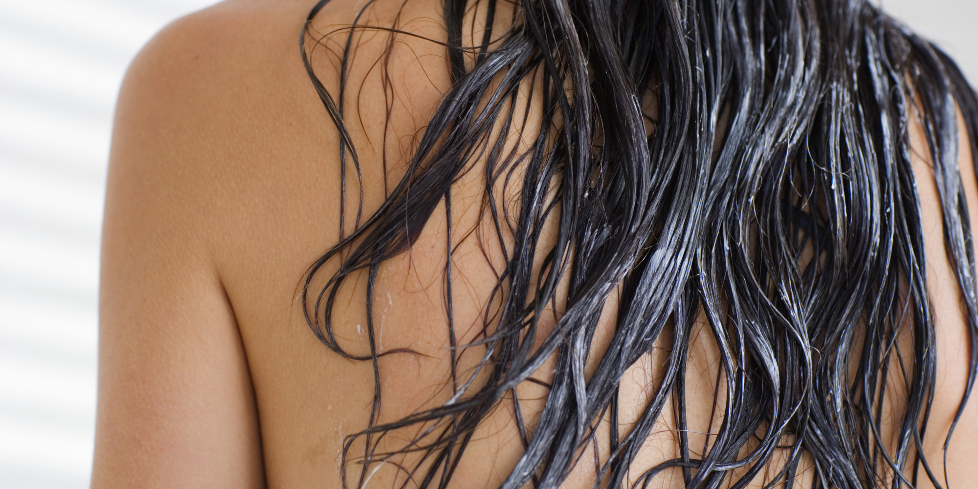 Handle wet hair with care