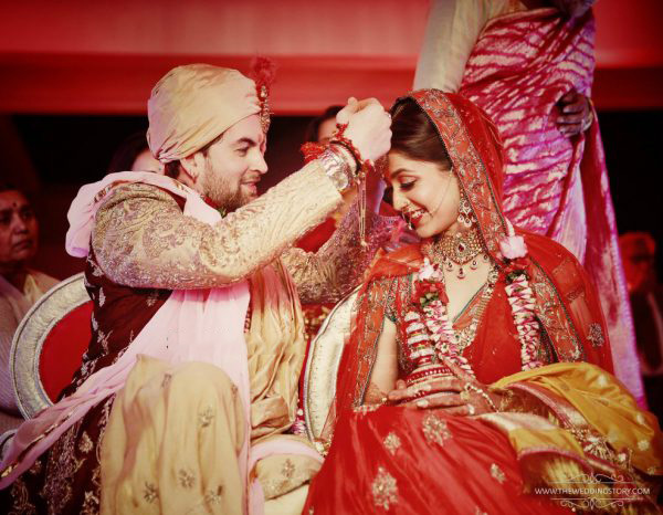 Mr and Mrs Neil Nitin Mukesh!