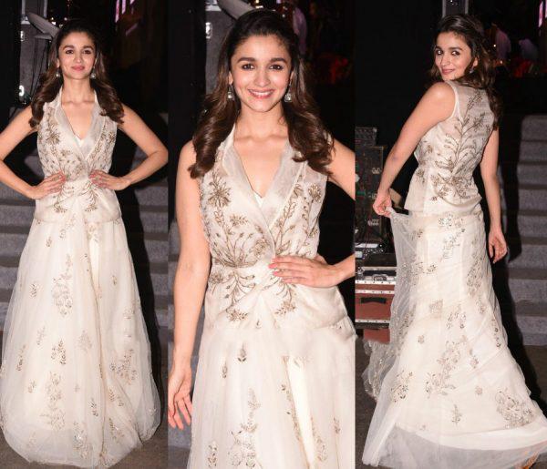 Alia Bhatt's Look