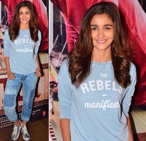 Alia the 'rebel'!