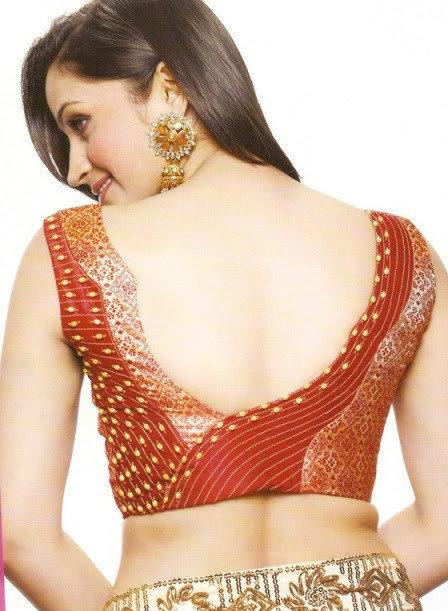 asymmetric back neck design