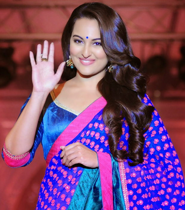Sonakshi in Loose curls