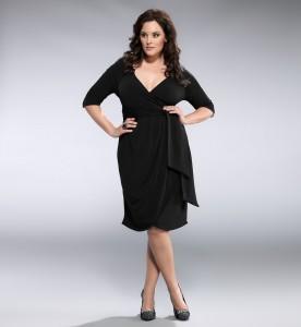 Plus-Size-Black-Dress