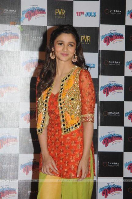 Alia in salwar with shrug