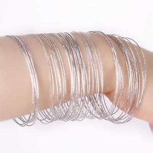 thin silver bangles