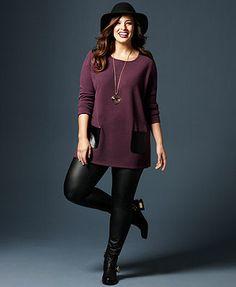 Sweater style tunic