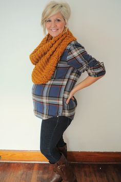 Scarf_Maternity clothes
