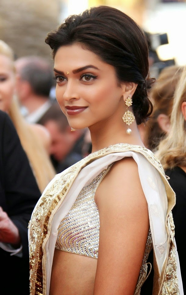 Deepika Padukone in Rohil Bal at the Cannes 2010