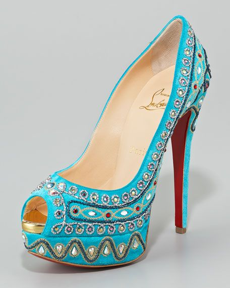 traditional open toe pumps