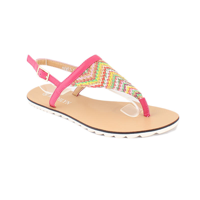 Traditional T strap sandals