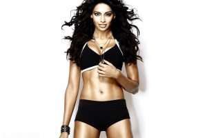 Bipasha in her workout outfit