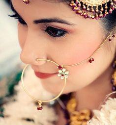 Bridal nose ring