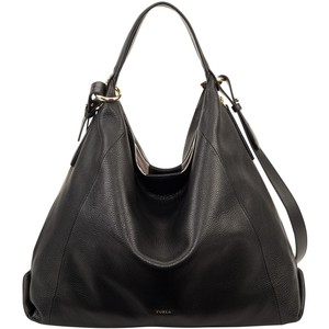 Slouchy hobo shoulder handbag