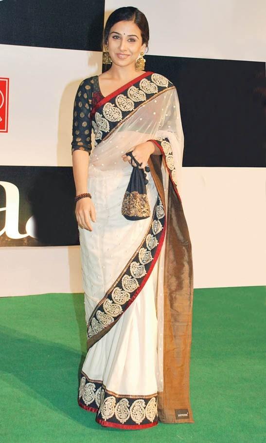 Vidya with potli