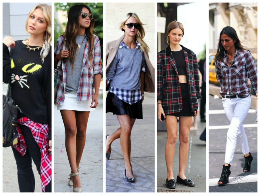 Ways to Wear Plaid