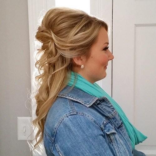 Bouffant Curls