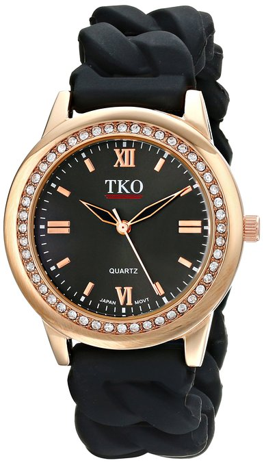 Simple yet stylish black watch