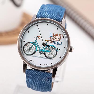 Cool denim watch