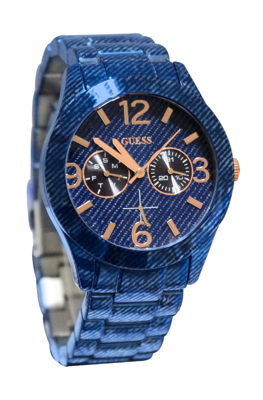 Denim watches couldn't be any trendier