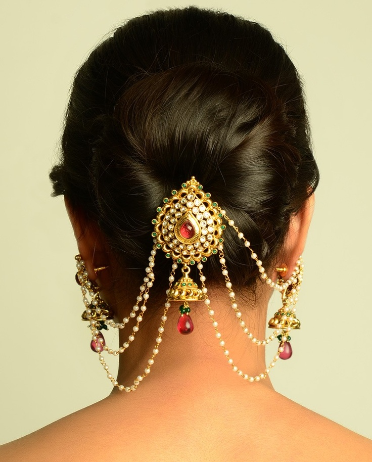 Stylish juda pin that goes well with a hair bun