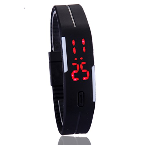 LED dial watch
