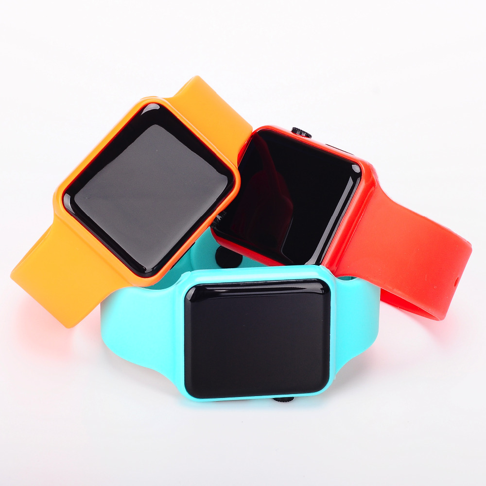LED dial watches